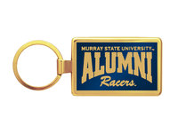 Murray State Maverick Key Tag - Alumni (Gold)