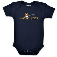 College Kids Short-Sleeved Onesie - Navy
