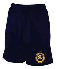 Russell Youth Mesh Short - Navy
