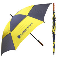 StormDuds Murray State Checkerboard Vented Golf Umbrella