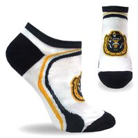 TCK White No-Show Socks with Arch Support