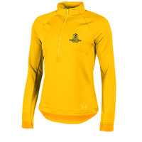 Under Armour Ladies Threadbourne 1/4 Zip - Gold