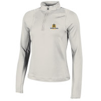 Under Armour Ladies Zinger 1/4 Zip - Ivory