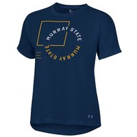 Under Armour Ladies Whisper Tee - Navy