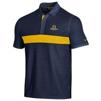 Under Armour Skybox Polo - Navy/Gold