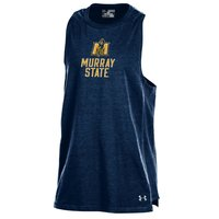 Under Armour Girls Charged Cotton Tank - Navy