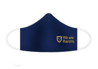 """We Are Racers"" Face Mask - Navy"