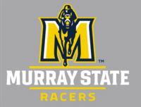 Murray State Racers Small Window Cling Decal