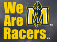 Murray State Decal - 'We Are Racers' w/JH Logo