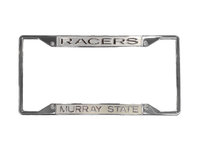 CLASSIC FROST LICENSE PLATE FRAME- RACERS