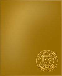 LAMINATED FOLDER W/SEAL - GOLD