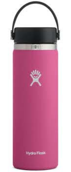 HYDROFLASK 20 OZ WIDE MOUTH WITH FLEX SIP LID- CARNATION F21
