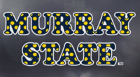 Murray State Decal - Polka Dots