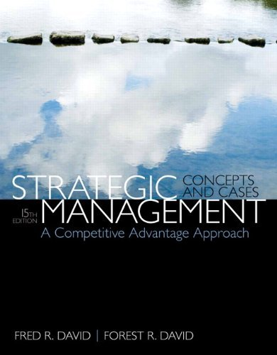 Strategic Management Wout New Mymgmtlab Access Card Murray