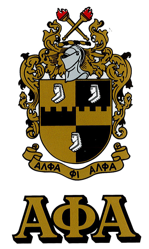 fraternity peel stick crest letters